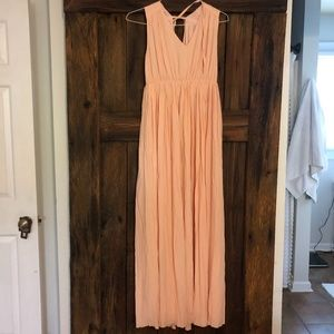 NWT Madewell Magnolia Tie-Back Maxi Dress - G6076